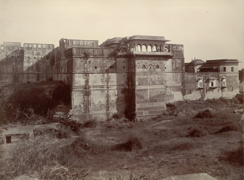 Side view of the Old Palace, Kumbher